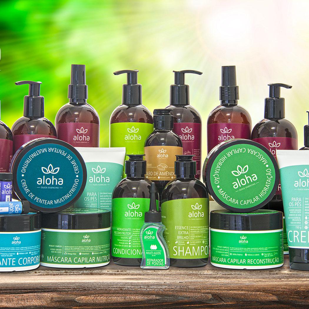 Todos os produtos da Aloha Oils
