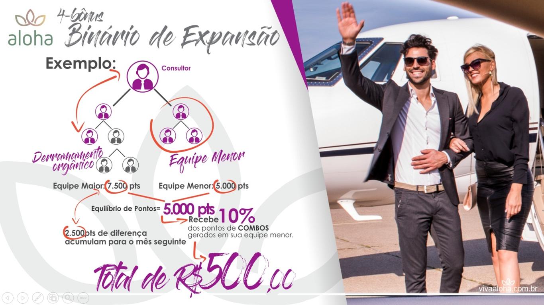 Ganhe dinheiro com suas indicações no Bônus Binário de Expansão