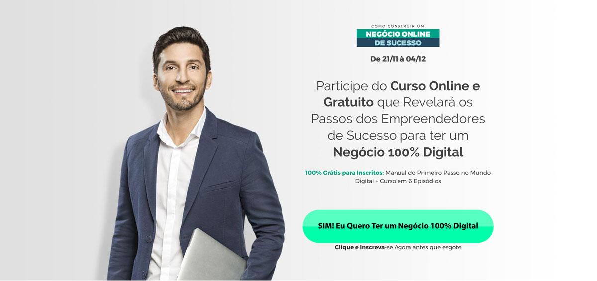 Clique Para Participar do Mini Curso com o Bruno Pinheiro Negócio Online de Sucesso NOS