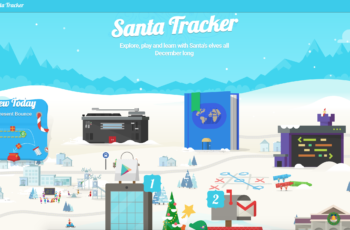 Google e o Papai Noel. Novo Jogo