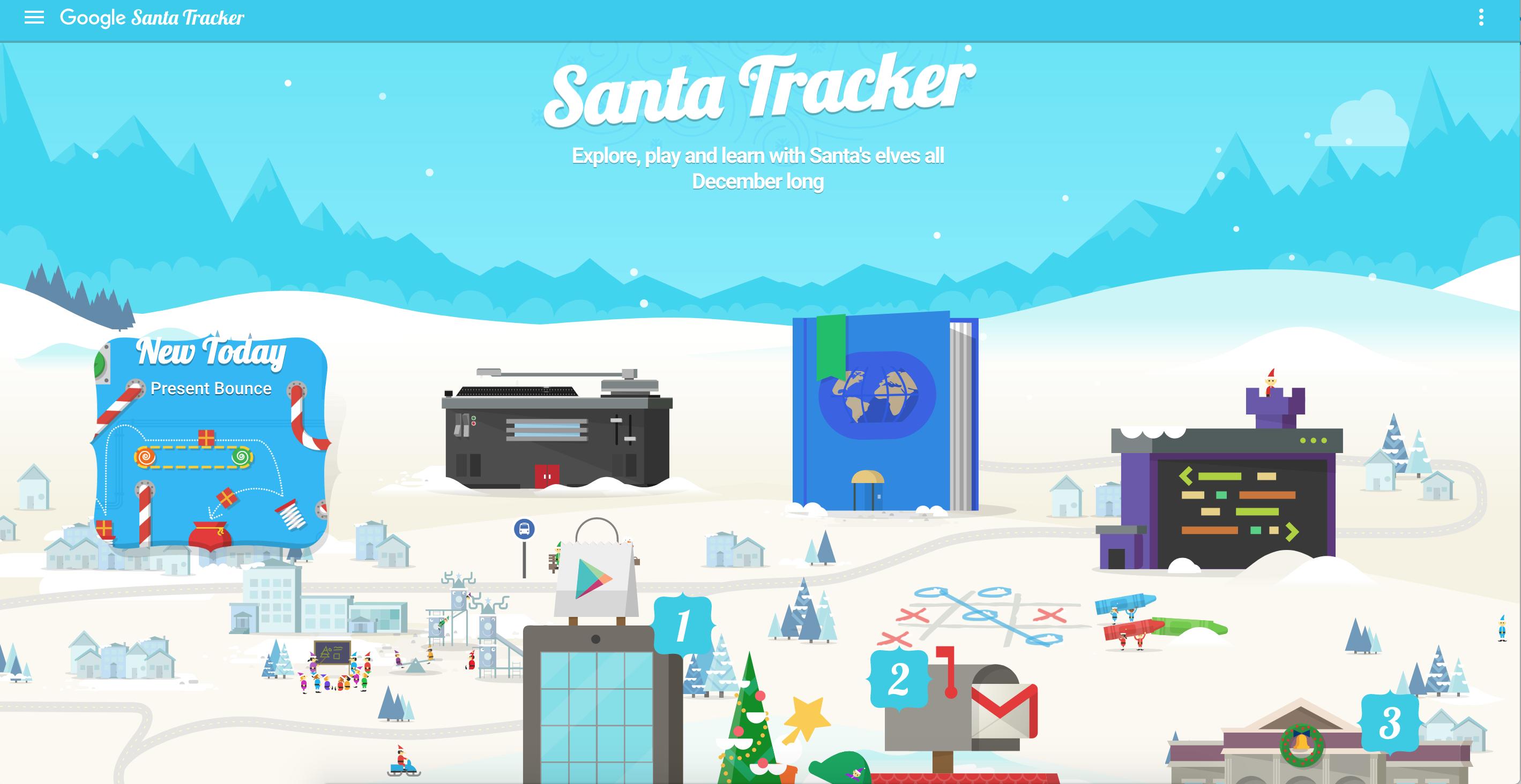 Tema natalino está presente em novo jogo do google