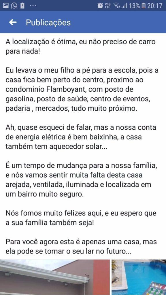 Anúncio de Casa no Facebook com copy perfeita - 03